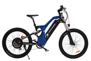 Blue Mountain model bike side view